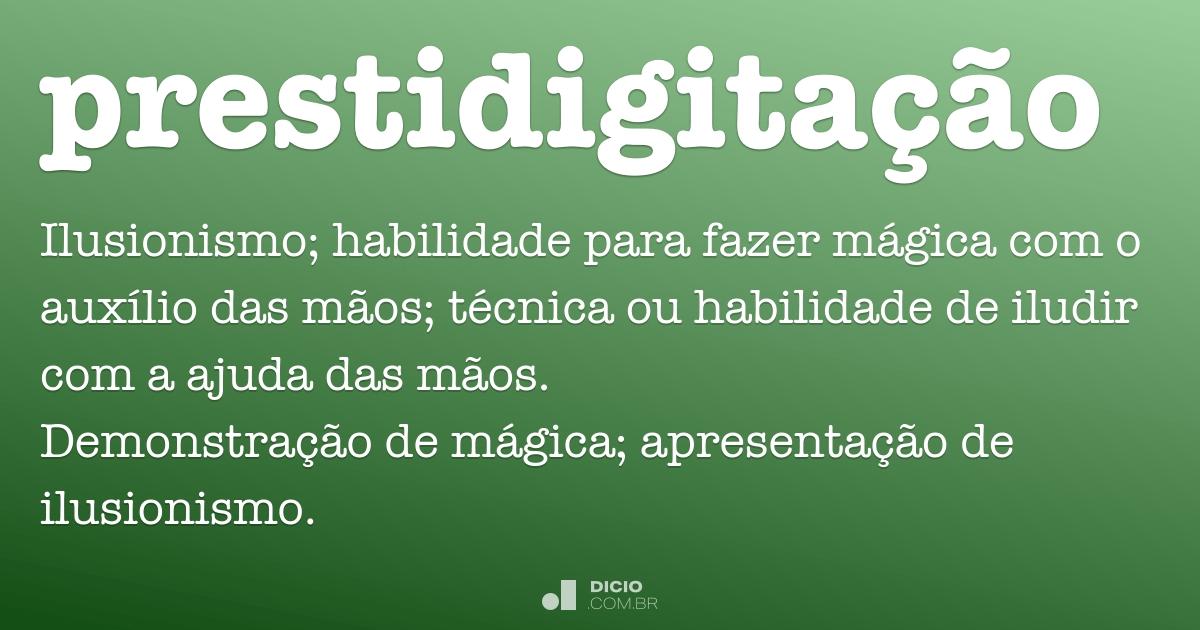 Prestidigita o dicion rio online de portugu s - Sinonimos de encantar ...