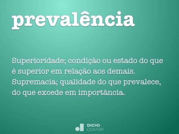 preval�ncia