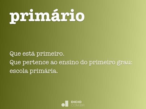 prim�rio