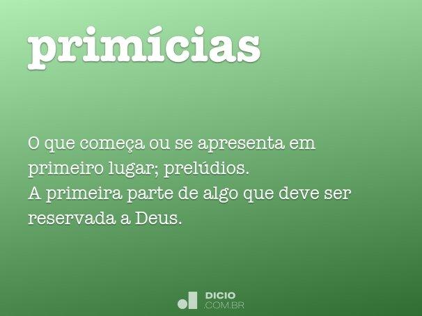 prim�cias