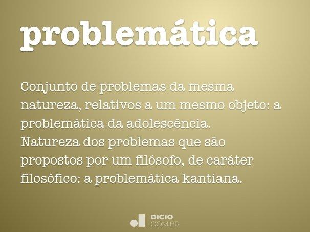 problem�tica