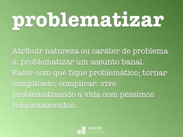 problematizar