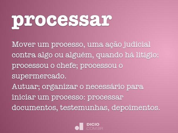 processar