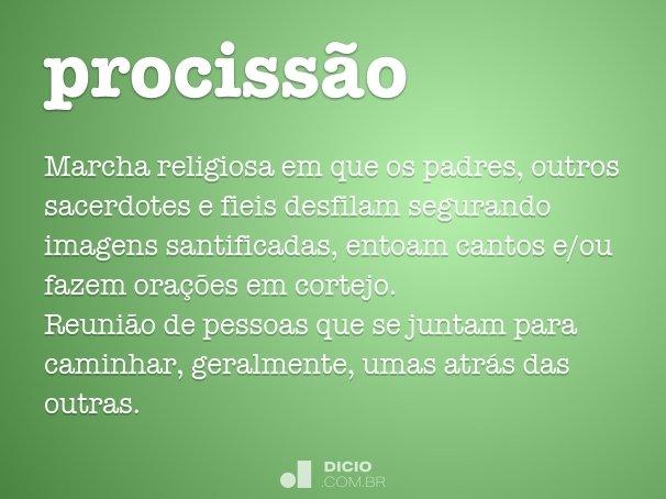 prociss�o