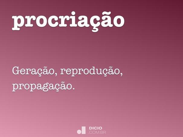 procria��o