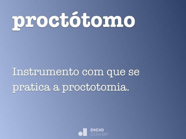proctótomo