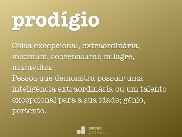 prod�gio