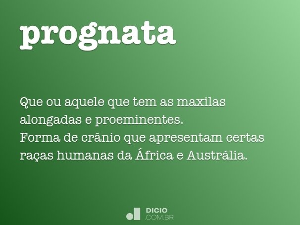 prognata