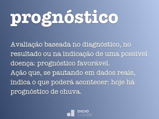 progn�stico