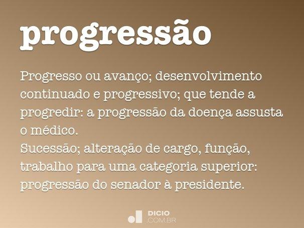progressão
