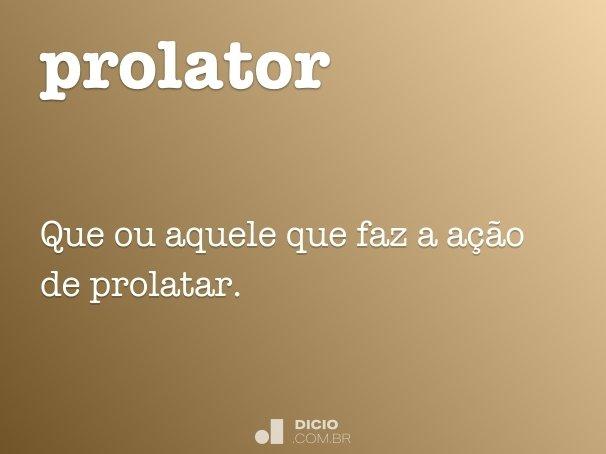 prolator