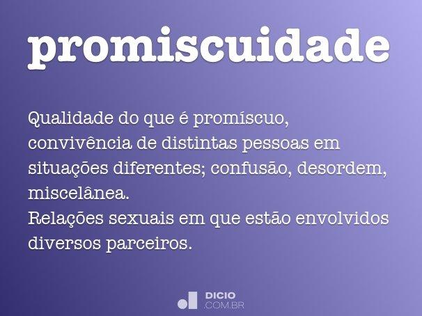 promiscuidade