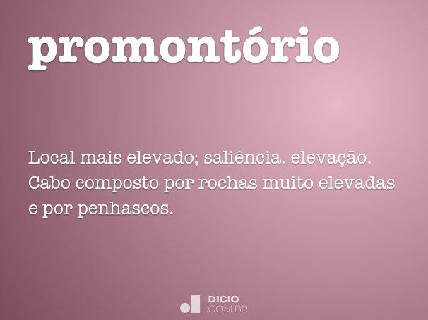 promont�rio