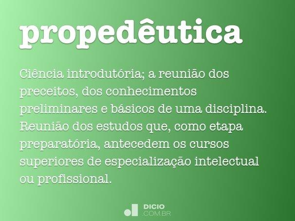 proped�utica