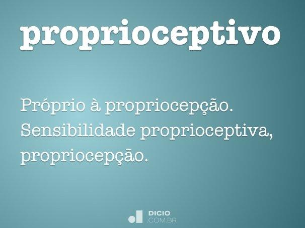 proprioceptivo