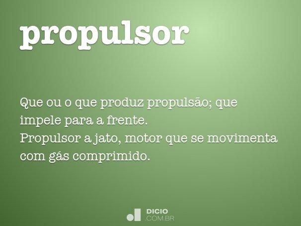 propulsor