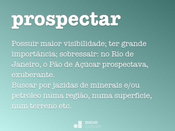 prospectar