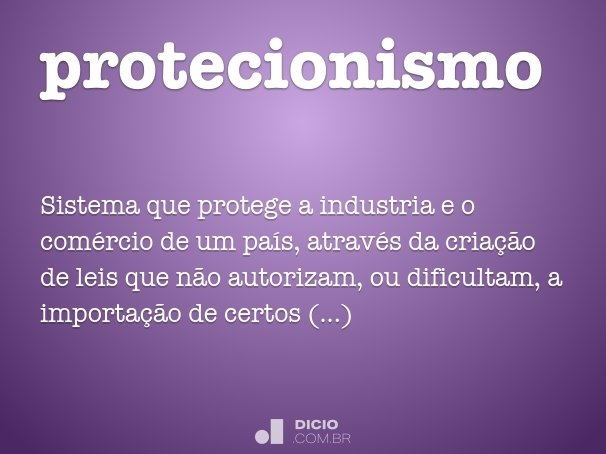 protecionismo