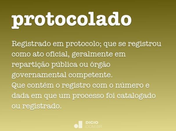 protocolado