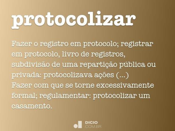 protocolizar