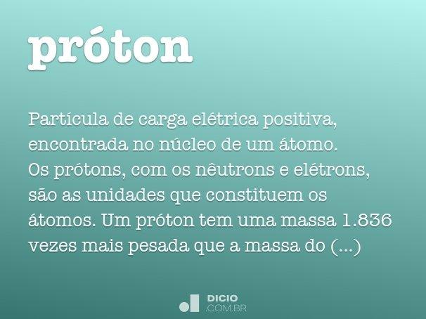 próton