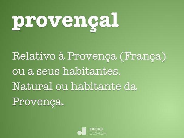 proven�al
