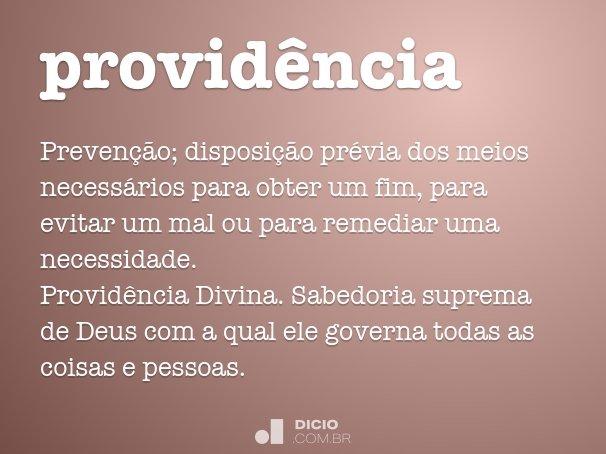 provid�ncia