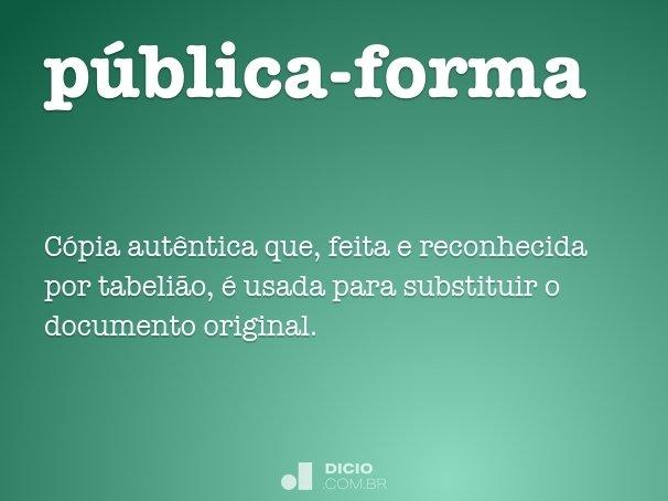 pública-forma