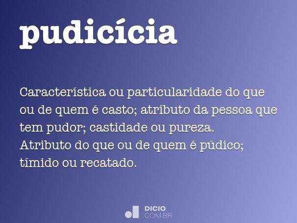 pudicícia