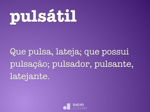 pulsátil