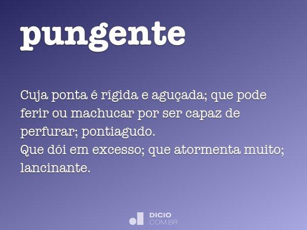 pungente
