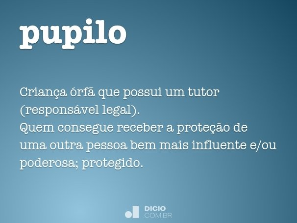 pupilo