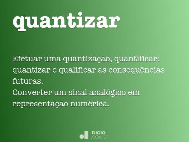 quantizar