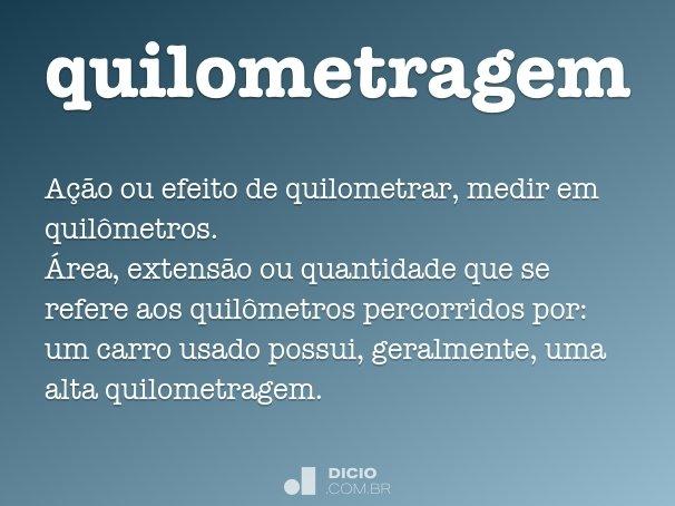 quilometragem