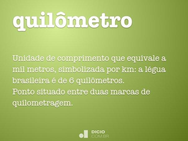 quilômetro