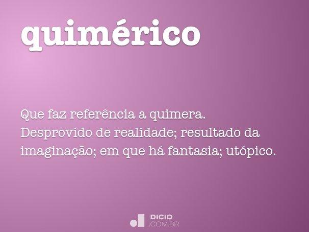 quim�rico