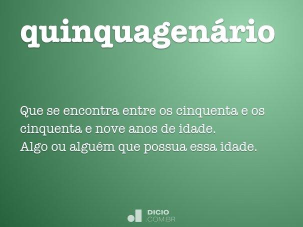 quinquagen�rio