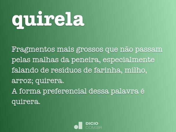 quirela