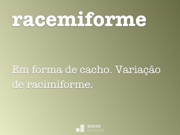 racemiforme