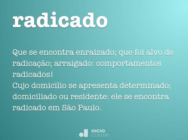 radicado