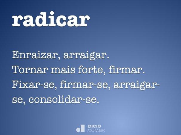 radicar