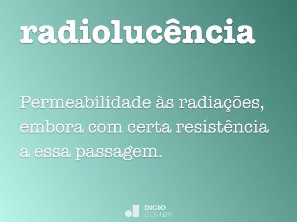 radiolucência