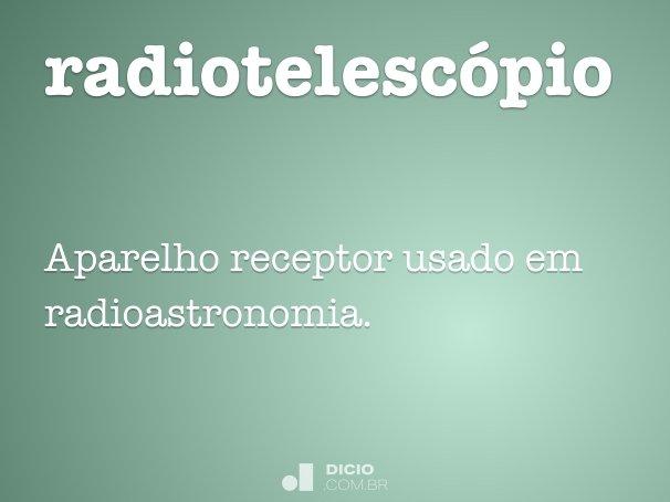 radiotelescópio
