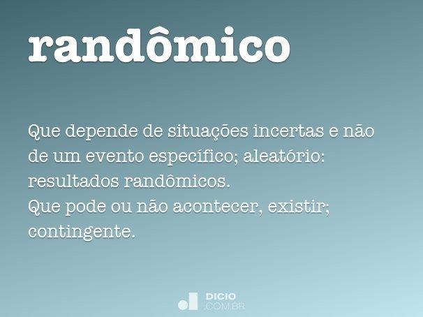 randômico