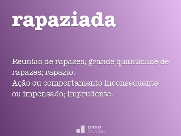 rapaziada