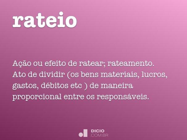 rateio