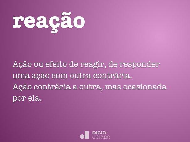 rea��o