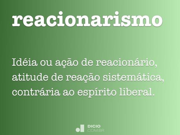 reacionarismo