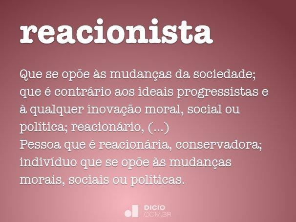 reacionista