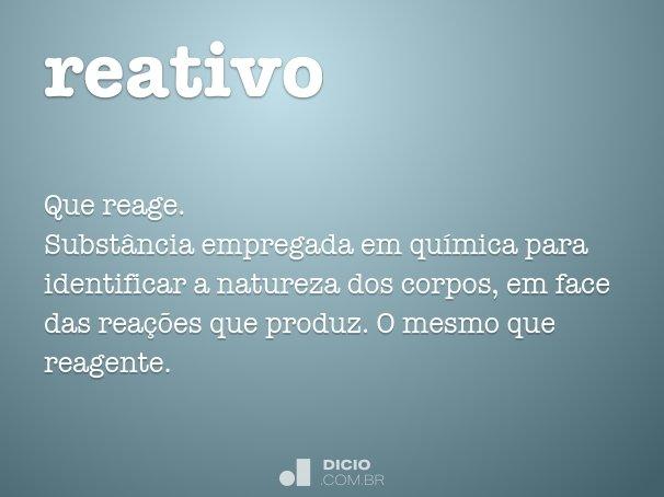 reativo